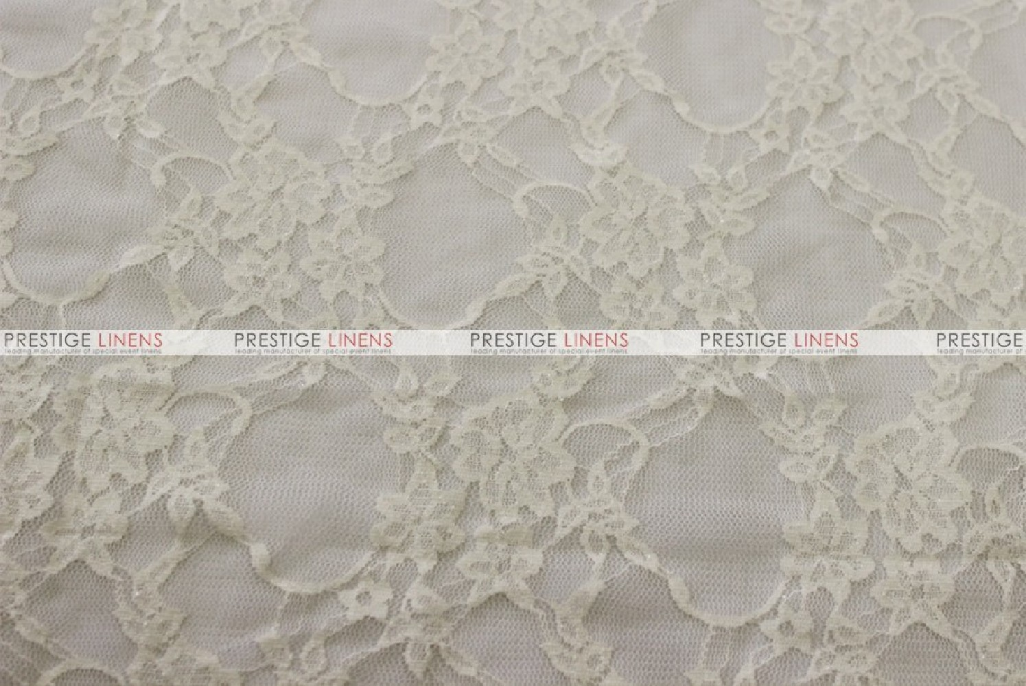 Victorian Stretch Lace Fabric By The Yard Ivory