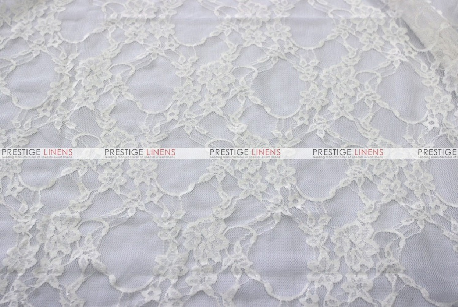 Victorian Stretch Lace Fabric By The Yard White