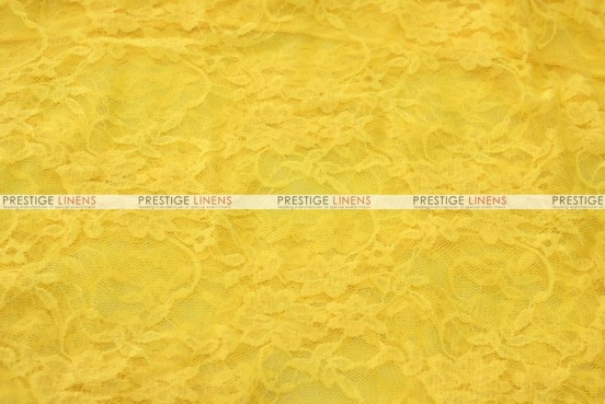 Victorian Stretch Lace - Fabric by the yard - Yellow
