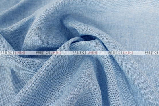 Vintage Linen - Fabric by the yard - Baby Blue