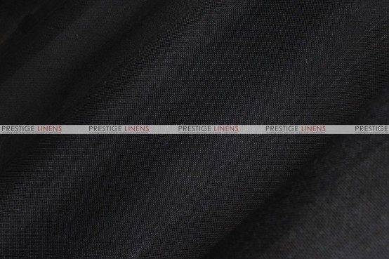 Vintage Linen - Fabric by the yard - Black