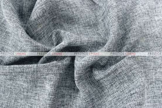 Vintage Linen - Fabric by the yard - Charcoal