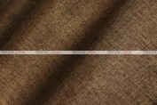 Vintage Linen - Fabric by the yard - Chocolate