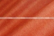 Vintage Linen - Fabric by the yard - Dk Orange