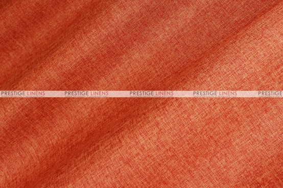 Vintage Linen - Fabric by the yard - Dk Orange