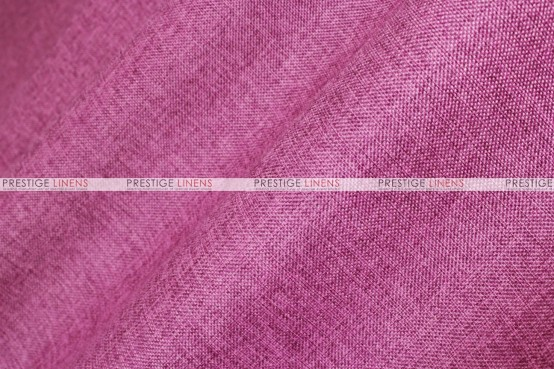Vintage Linen - Fabric by the yard - Fuchsia