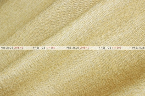 Vintage Linen - Fabric by the yard - Lt Gold