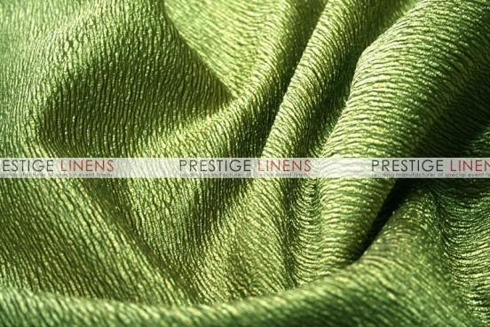 Luxury Textured Satin Draping - Apple