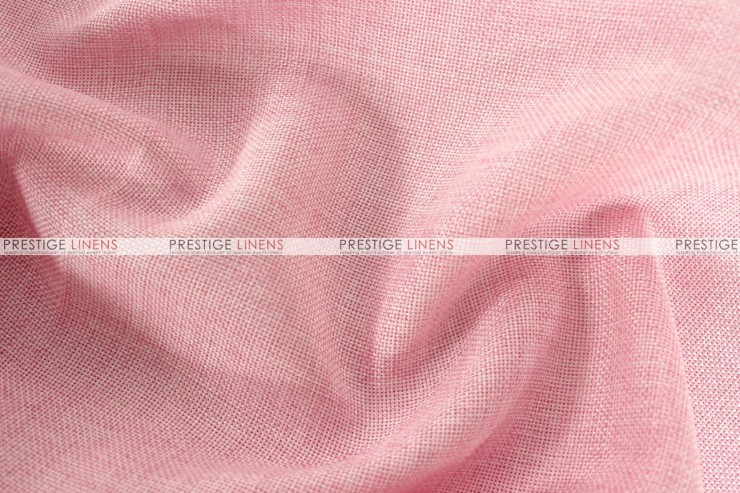 Vintage Linen - Fabric by the yard - Pink