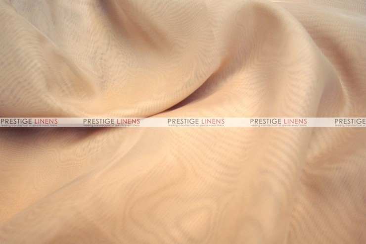 Voile - Fabric by the yard - Champagne