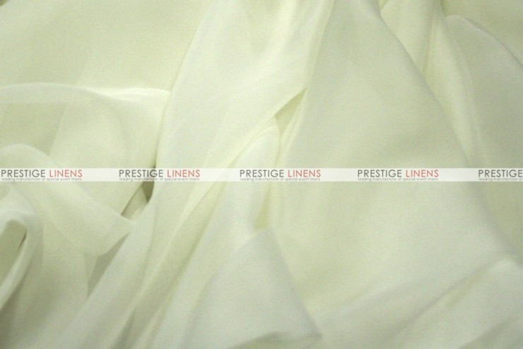Voile - Fabric by the yard - Ivory