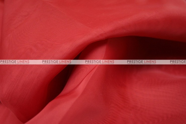 Voile - Fabric by the yard - Red