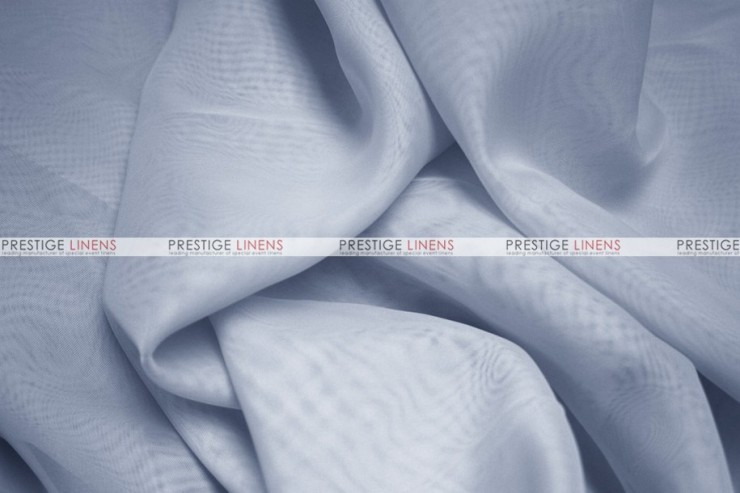 Voile - Fabric by the yard - Silver