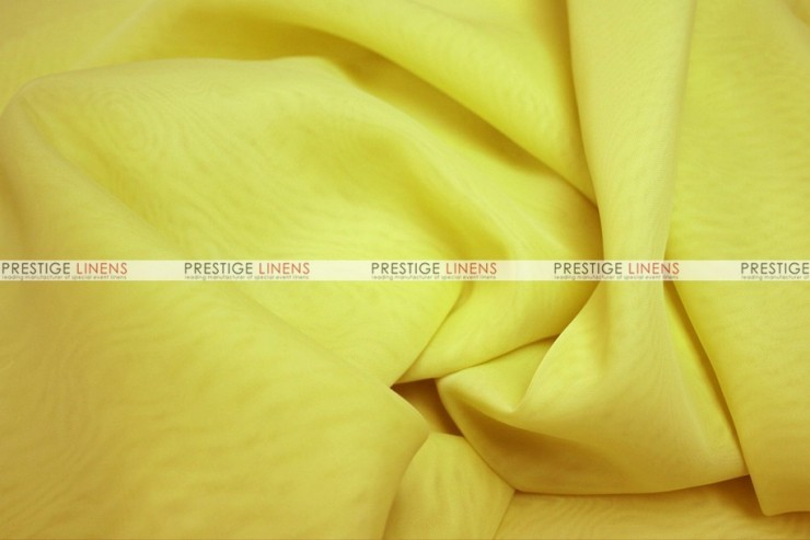 Voile - Fabric by the yard - Yellow