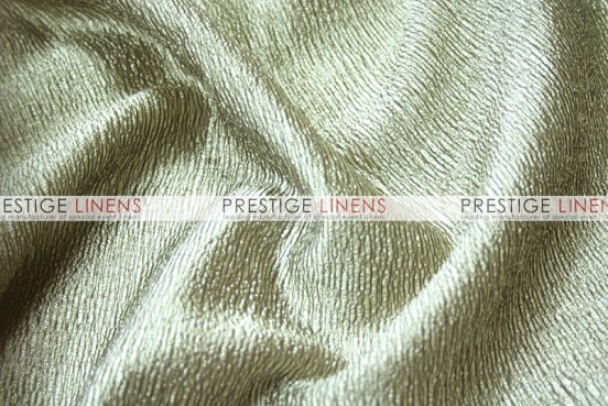 Luxury Textured Satin Draping - Champagne