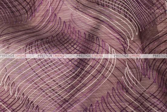 Wave Sheer - Fabric by the yard - Amethyst