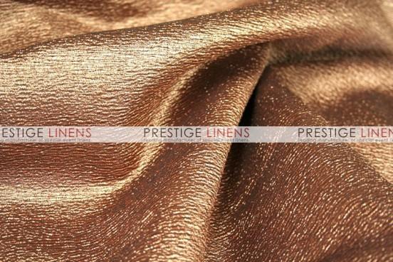 Luxury Textured Satin Draping - Ginger
