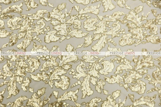 Wendy - Fabric by the yard - Gold