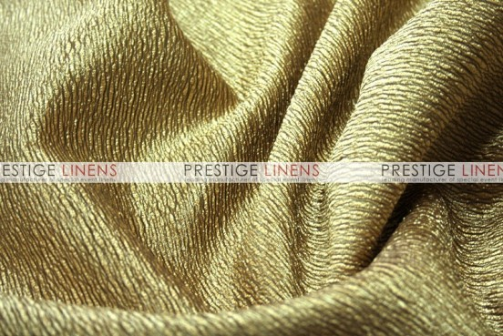 Luxury Textured Satin Draping - Gold