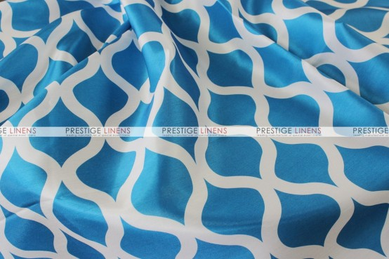 Wisker Bisket - Fabric by the yard - Aqua