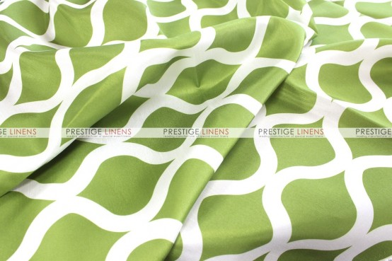Wisker Bisket - Fabric by the yard - Lime Green