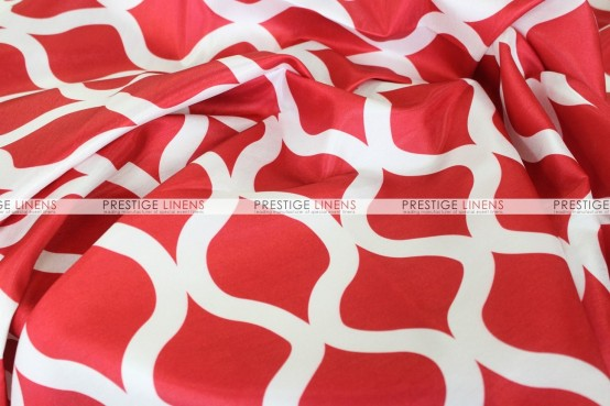 Wisker Bisket - Fabric by the yard - Red