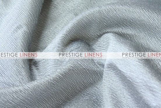 Luxury Textured Satin Draping - Platinum