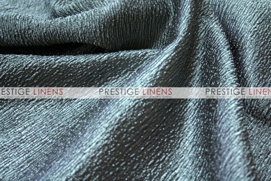 Luxury Textured Satin Draping - Slate