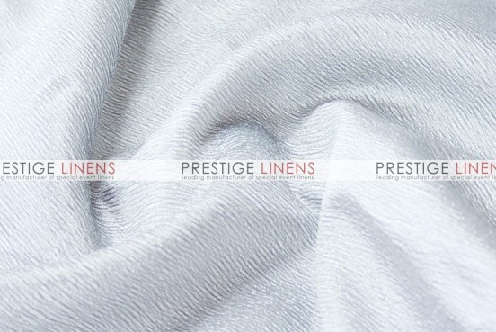 Luxury Textured Satin Draping - White