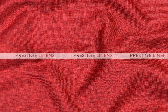 Vintage Linen Table Runner - Burgundy
