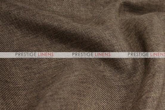 Vintage Linen Table Runner - Chocolate