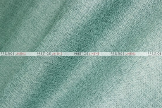 Vintage Linen Table Runner - Seafoam