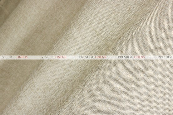 Vintage Linen Table Runner - Taupe