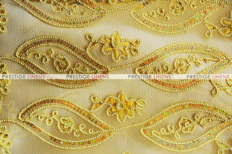 Coco Mango Chair Caps & Sleeves-Gold