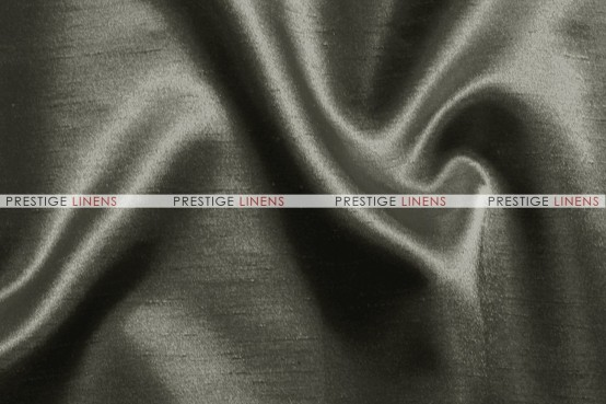 Shantung Satin Table Linen - 1139 Charcoal