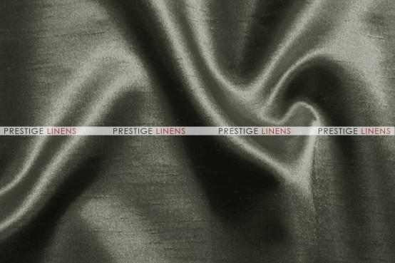 Shantung Satin Table Linen - 1139 Charcoal
