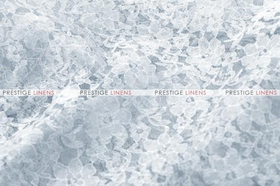 Rachelle Lace Table Linen - 1126 Silver