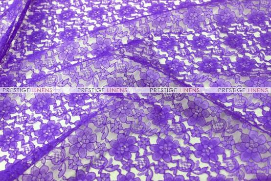 Rachelle Lace Chair Caps & Sleeves - 1032 Purple