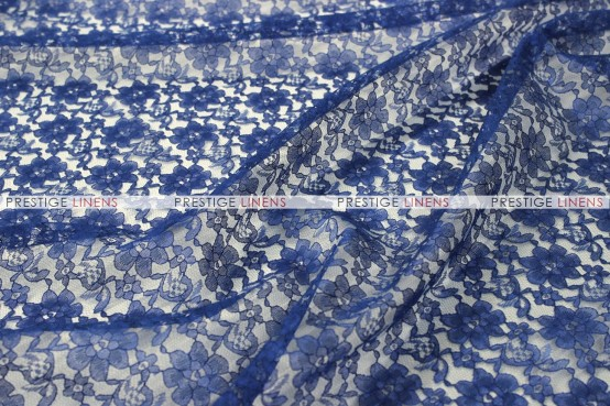 Rachelle Lace - Fabric by the yard - 934 Navy