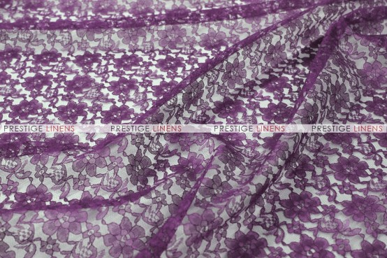 Rachelle Lace - Fabric by the yard - 1034 Plum
