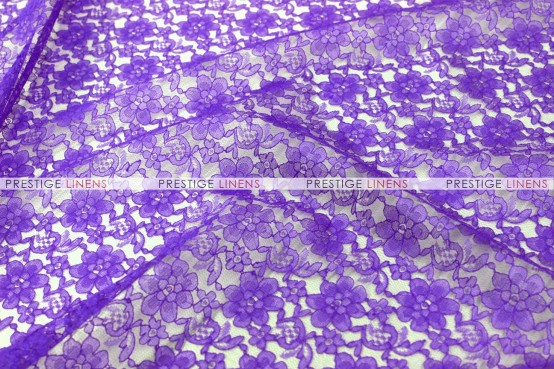 Rachelle Lace - Fabric by the yard - 1032 Purple
