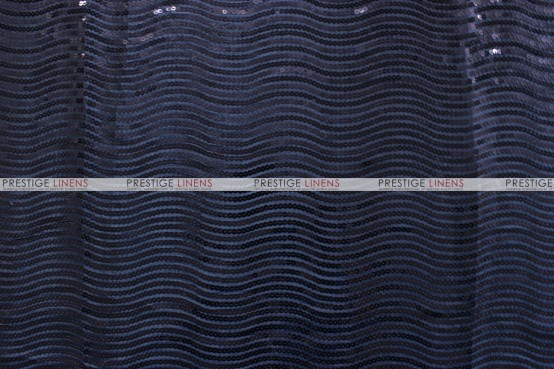River Rock Draping - Navy