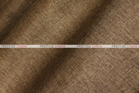 Vintage Linen Aisle Runner - Chocolate