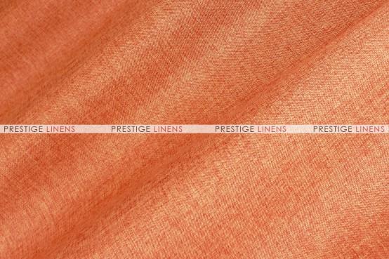Vintage Linen Aisle Runner - Dk Orange