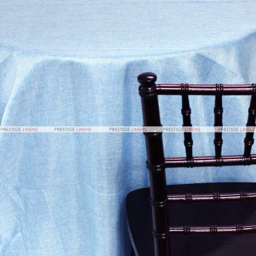 Vintage Linen Table Linen - Baby Blue