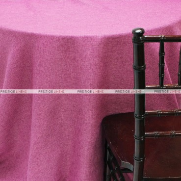 Vintage Linen Table Linen - Fuchsia