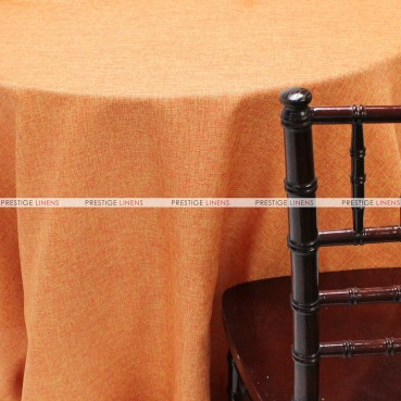 Vintage Linen Table Linen - Orange