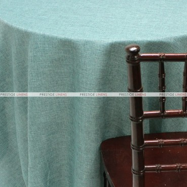 Vintage Linen Table Linen - Seafoam