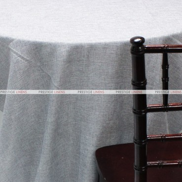 Vintage Linen Table Linen - Silver