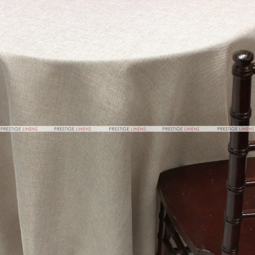 Vintage Linen Table Linen - Taupe